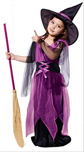 (Zalock Halloween Umhang Kinder Kostüm Baby Hexe Kleidung Cosplay Fasching Karneval Vampir Zauberer Ritter Für Kinder)
