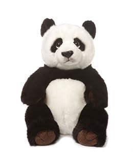 Anna Club Plush 16806 WWF - Oso Panda de Peluche, 32 cm Importado de Alemania