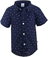Stummer Short Sleeves Tops and Shirts For Boys , Navy