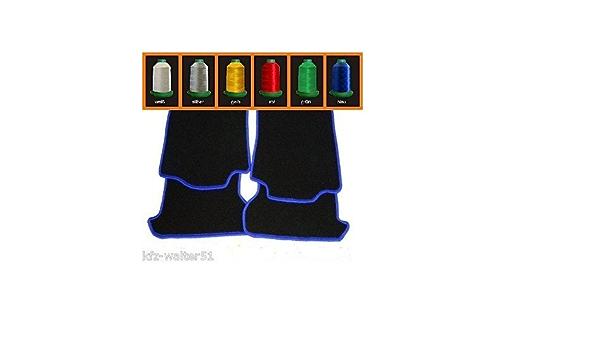 Mitsubishi Eclipse D30 Bj 1995 2000 Paßform Automatten Fussmatten Autoteppiche 4 Teiliger Satz Fussmatten Farbe Schwarz Mit Farbliche Kettelung Frei Wählbar Befestigungen In Fahrer Und Beifahrer Matte Wenn Werksseitig Vorhanden Auto