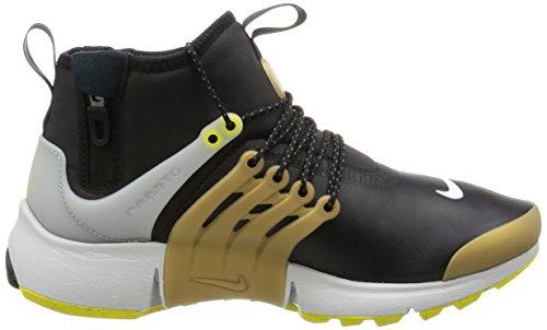 Nike Herren 859524-002 Basketball Turnschuhe Schwarz