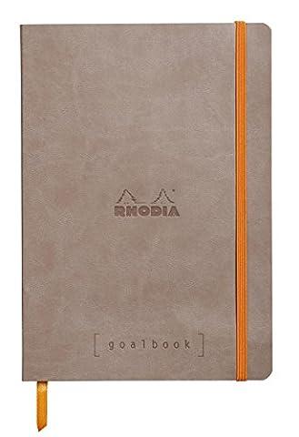 Cahier A5 240 Pages - Clairefontaine Rhodiarama GoalBook carnet 240 pages numérotées