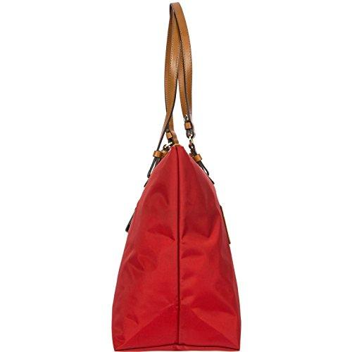 Brics X-bag Shopping Grande Sportina Schultertasche 39 Cm Rot