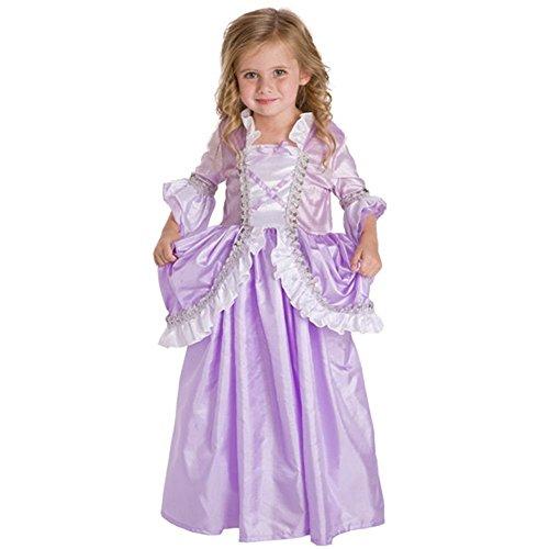 Little Adventures Traditional Royal Rapunzel Girls Princess Costume - X-Large (7-9 Yrs)