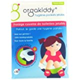 Orgakiddy Protège Cuvette WC Blanc Taille XL
