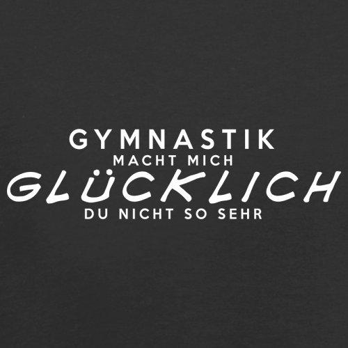 Gymnastik macht mich glücklich - Unisex Pullover/Sweatshirt - 8 Farben Schwarz