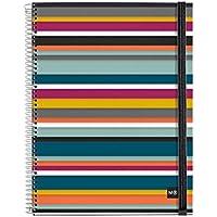 Miquelrius 2797 - Notebook 4 polipropileno oslo m (DIN A4, 210 x 297 mm, 120 hojas, 90 g/m², cuadrícula)