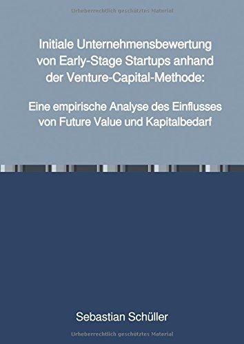 Initiale Unternehmensbewertung von Early-Stage Startups anhand der Venture-Capital-Methode:: Eine empirische Analyse des Einflusses von Future Value und Kapitalbedarf