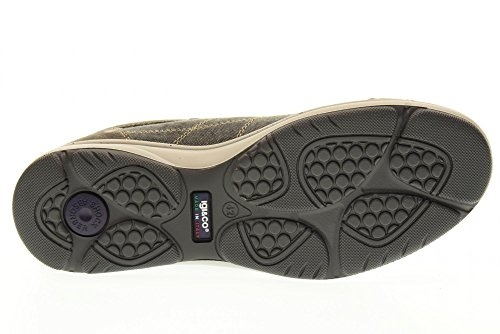 IGI&CO scarpe uomo sneakers basse 77004/00 GRIGIO Grigio