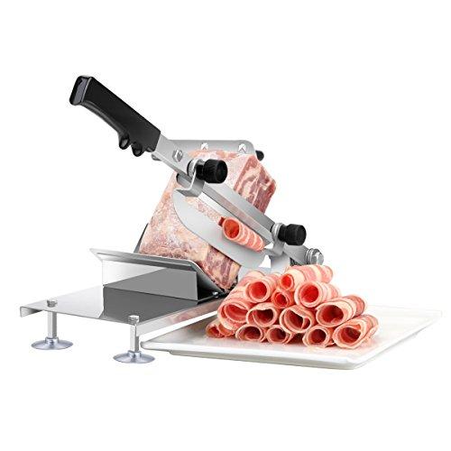 Slicer Von ZAIYI Rind- Und Hammelfleisch Slicer Manueller Haushalt Fleisch Slicer Fett Rindfleisch...