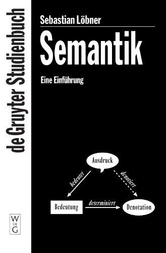 Semantik (De Gruyter Studienbuch)