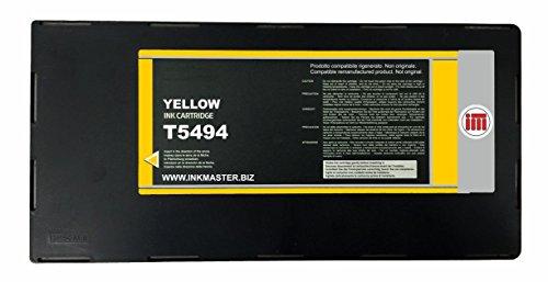 Ink Master - Cartuccia compatibile EPSON T5494 YELLOW per Epson Stylus Pro 10600