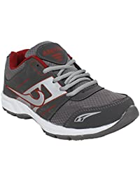Arexon Men's Synthetic Grey Colored Sport Shoe( Men's Running Shoe, Breathable Sports Shoe, High Grip Sports Shoe... - B074Q1YB7Y