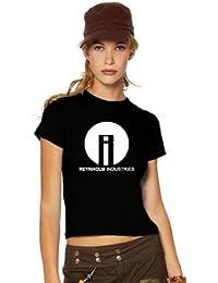 The IT Crowd Nerd Fun T-Shirt, Reynholm Industries, Fanshirt, admin, XXL, Ladies schwarz