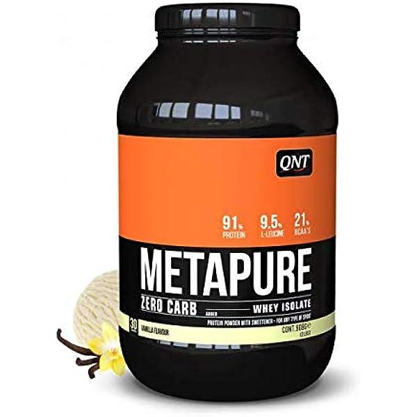 QNT Metapure Zero Carb Whey Isolate, Sabor Vanilla - 908 gr ...