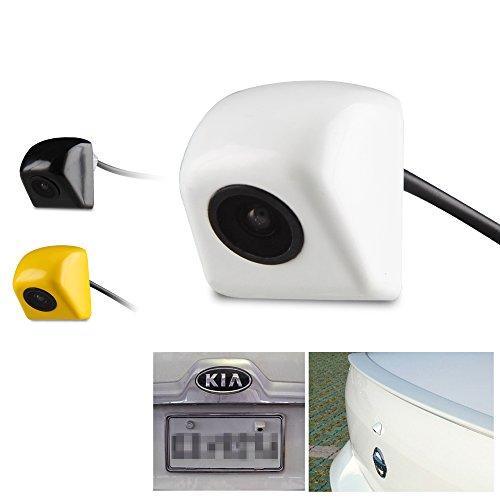 Car Rover Universel de Voiture Caméra de Recul CCD Chip pour Toutes les Voitures Modèle blanc