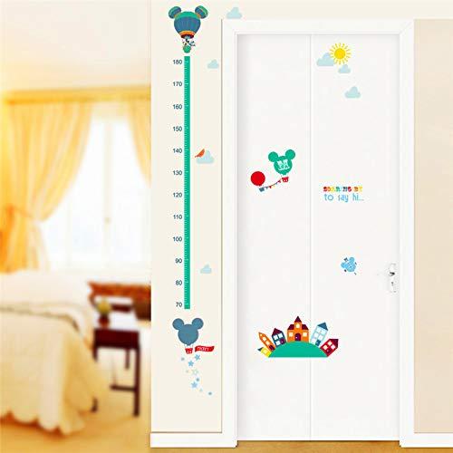 Kreative Cartoon Film Mini Maus Wachstum Chart Wandkunst Aufkleber Wohnzimmer Dekoration Diy Aufkleber Kinder Geschenk Höhe Maßtabelle