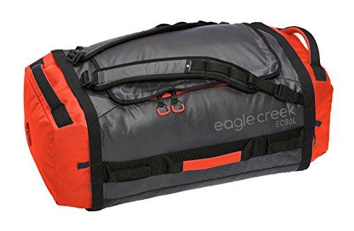 Reisetasche Cargo Hauler Duffel, 90 L, Rot/ Grau