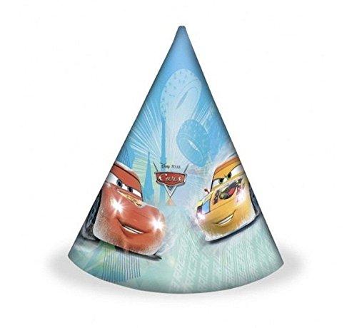 Disney Cars Party Hüte 6 Stück