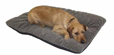 Perros térmica cama marrón 100x 120cm