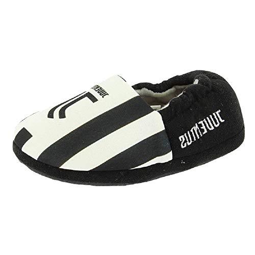 Arnetta juventus calcio pantofole bambino ciabatte juve ps 16505 nuovo logo jj-26-27