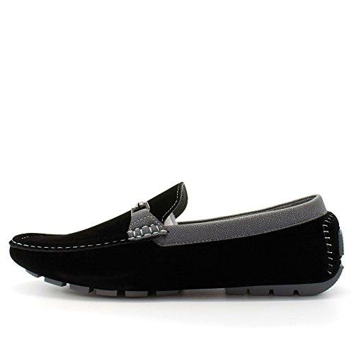 London Footwear , Sandales Compensées homme Noir - noir