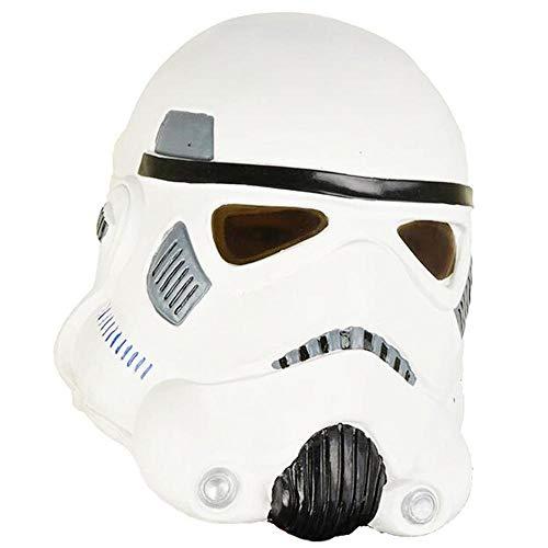 Star Kostüm Wars Machen Zu Hause - Noble Halloween Maske Terror Latex Kopfbedeckung Star Wars Maske Weißer Soldatenhelm Schwarzer Samurai Party Party Maske