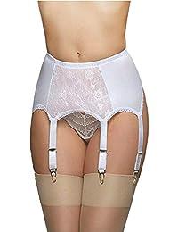 06c19c6d5f399 6 Strap Garter Suspender Belt for Stockings