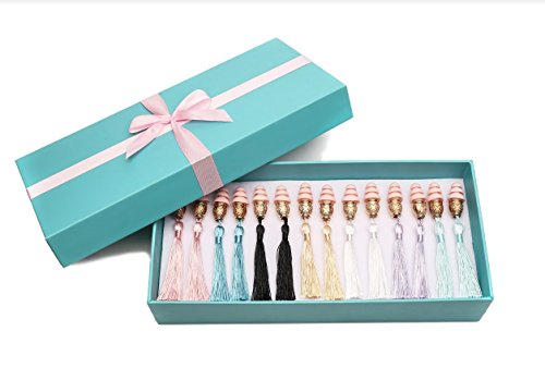 Breakfast At Tiffany 's – Holly Geschenk Box Quaste Ohr Stecker Set in ()