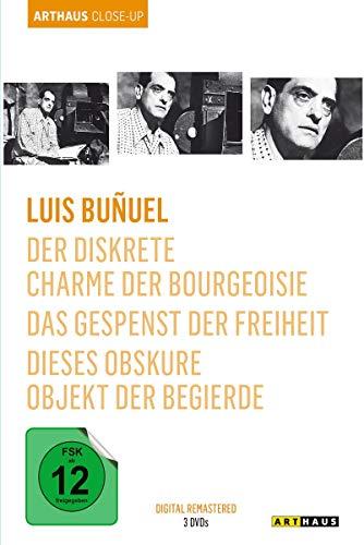 Luis Buñuel - Arthaus Close-Up [3 DVDs] - Rennen-tag-tee