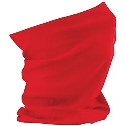 Beechfield - Braga para el cuello multiusos modelo Original para mujer (Talla Única/Rojo)