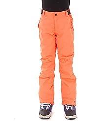 Brunotti Pantalones de esquí invierno Pantalones Pantalón de snowboard louisy Rojo transpirable, color rojo, tamaño 12 años (152 cm)