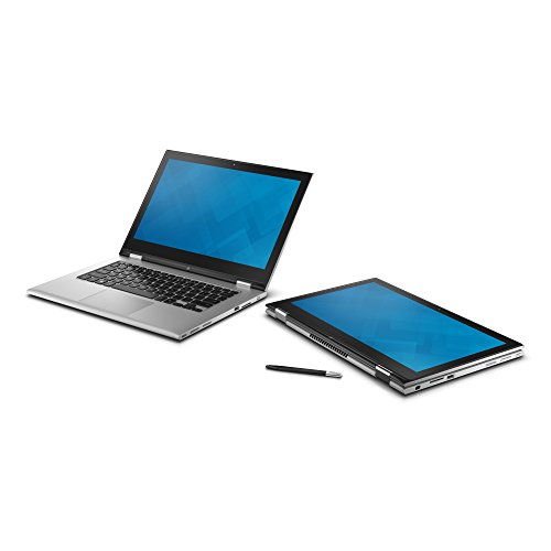Dell Inspiron 13 7000 Series 2-in-1 Touch Screen Full HD Laptop - Silver (5th Gen Intel i5-5200U 2.20Ghz, 8GB DDR3, 500GB Hybrid HDD, Wireless, Bluetooth, Windows 8.1 with upgrade to Windows 10 once released, 1 Year Warranty)