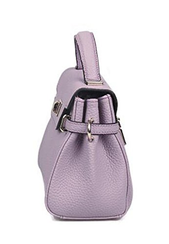 Mini Borse In Pelle Goffrata Pink