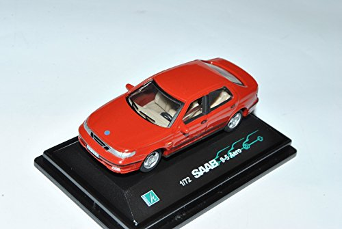 saab-9-5-aero-limousine-rot-1997-2010-1-72-cararama-modell-auto-mit-individiuellem-wunschkennzeichen