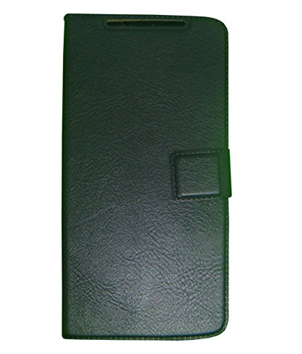 Zocardo© Faux Leather Flip Case Flip Diary Cover For Karbonn Titanium S5 Ultra -Black with Stand , Magnetic Lock  available at amazon for Rs.399