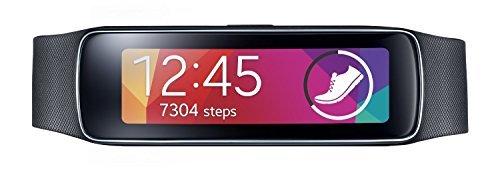 Samsung Gear Fit Smartwatch - Schwarz (Zertifiziert und Generalüberholt)