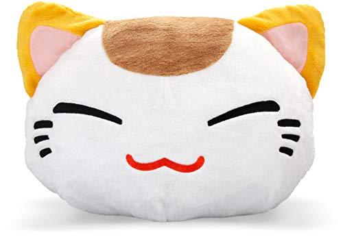 GlamXtensions XXL Jumbo Nemu Neko Kuscheltier Nemo Katze - Manga Anime Otaku Kawaii Stofftier - Plüschtier Plush Cat Katze Merchandise zum Kuscheln Original aus Japan