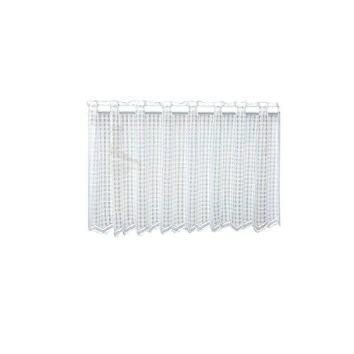 WINOMO Window Short Vorhänge Dekorative Sun Proof Shade Bildschirm Purdah Short Vorhang Valance für Küche Balkon Home