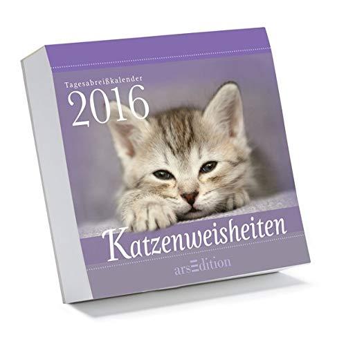 Katzenweisheiten 2016: Tagesabreißkalender