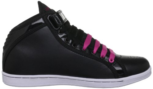Pineapple Breakdance, Baskets femme Multicolore - Black/Pink
