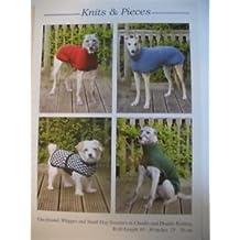 Patrones de Punto para abrigos de perro Galgo, Whippet y pequeños