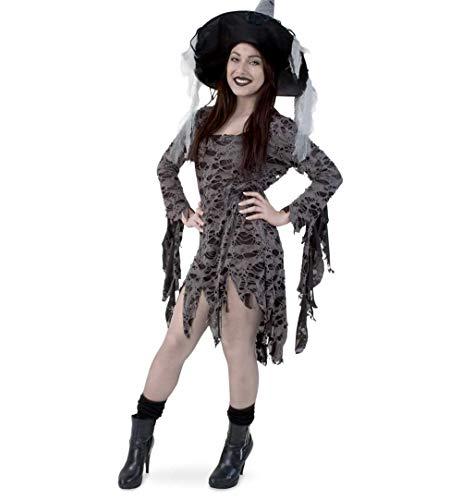 Voodoo Königin Kostüm - KarnevalsTeufel Damenkostüm Zombie Kleid Voodoo Halloween