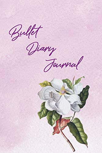 Bullet  Diary Journal: Mein 370 Seiten Vintage Blumen  Bullet Diary Journal  Das kreative Journal zum Ausfüllen und Gestalten