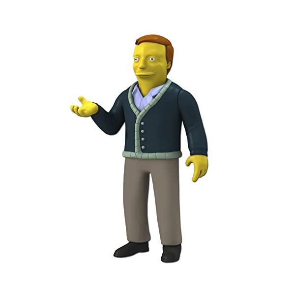 NECA- Simpsons Serie 5 Adam West Figura, 634482160800, 13 cm 1