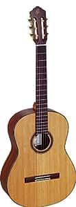 Ortega M59CS Custom Master Selection Guitare de concert solide avec housse Bois de rose/Cèdre