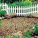 Zierzaun 'Garden Classic' 3,2 m - braun