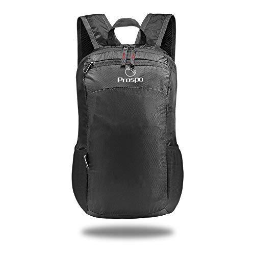 Prospo 20L Faltbare Ultraleicht Sachen Pack Kleine Leichte Packbar Rucksack Mehrzweck-Daypacks für Outdoor-Wandern Camping für Erwachsene Kids
