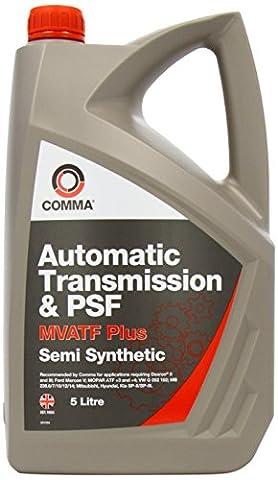 Comma MVATF5L Liquide de transmission automatique et de direction assistée 5 l