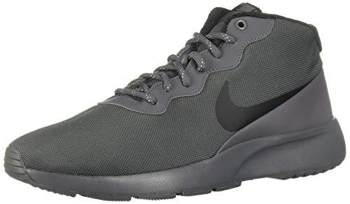 Nike Tanjun Chukka, Scarpe da Trail Running Uomo, Multicolore (Dark Grey/Black/Green Glow 002), 42 EU
